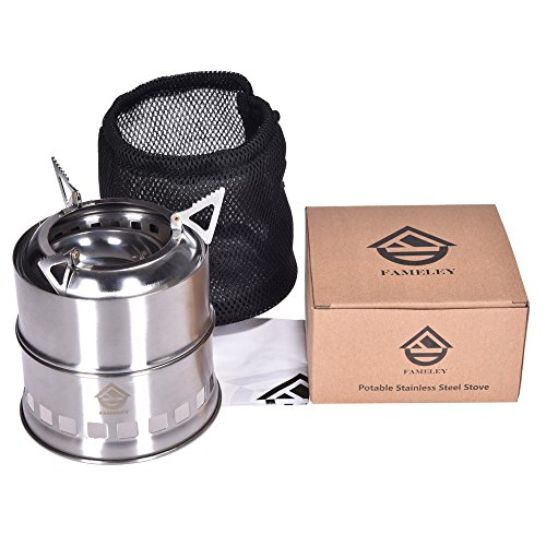 light weight camp stove
