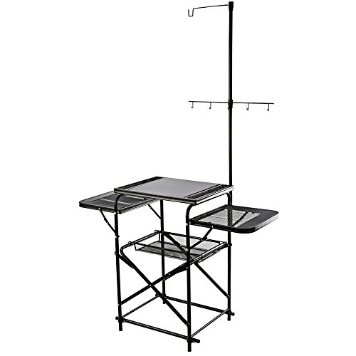 Magicook Aluminum Folding Table, Portable Camp Kitchen, Fold-up Outdoor Kitchen
