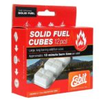 Esbit 1300-Degree Smokeless Solid Fuel Tablets for Backpacking, Camping, Emergency Prep, and Hobby
