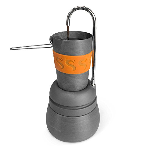 Winterial Percolator Coffee Maker / Compact / Cups Included / Coffee / Camping / Backpacking ...