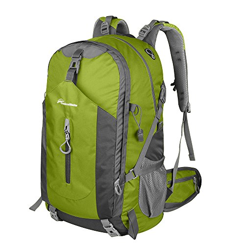 OutdoorMaster Hiking Backpack 50L – Weekend Pack w/ Waterproof Rain Cover & Laptop Compartment – for Camping, Travel, Hiking