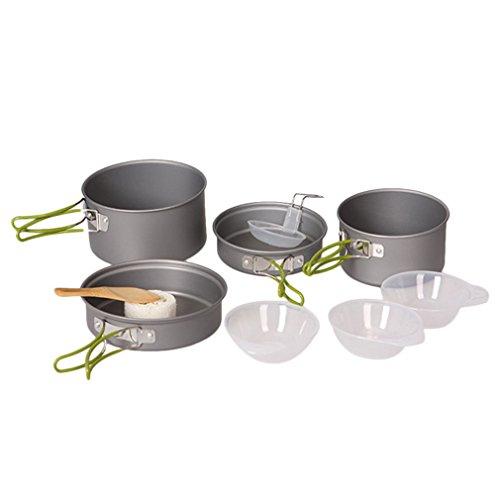 OUTAD Cooking Bowl Pot Pan Set – 10 Piece