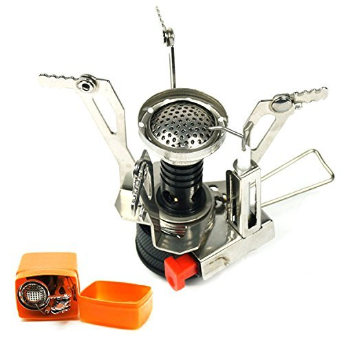 7TECH Ultralight Gas Stove Portable Windproof Camping Collapsible Stoves