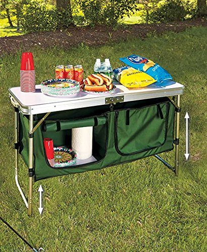 Portable Camping Kitchen Table by GetSet2Save