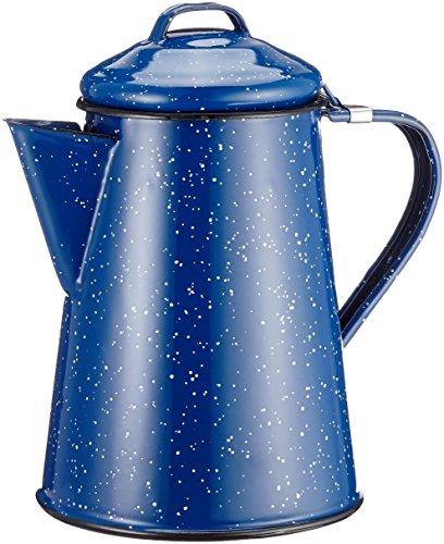 GSI GSI-15150 Blue Enamel Coffee Pot – 6 Cup